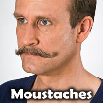 Theatrical Moustaches